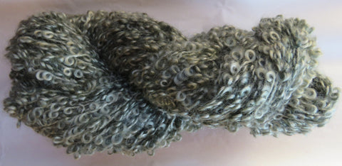 Large Boucle Mohair - Bulky Weight - Sage #LBM-3