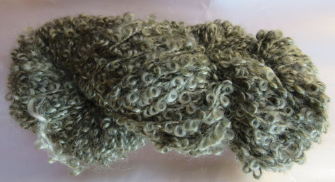 Large Boucle Mohair - Bulky Weight - Sage #LBM-4