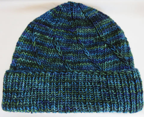 Pattern  1000 - The Swirl Hat