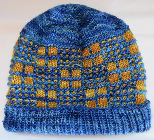 Pattern  1010 - Honey Comb Hat