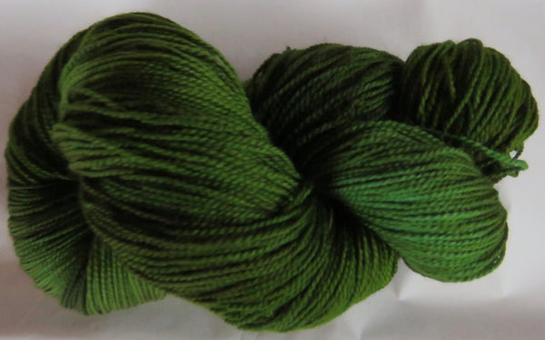 Fine Fingering 2ply Sock - Evergreens