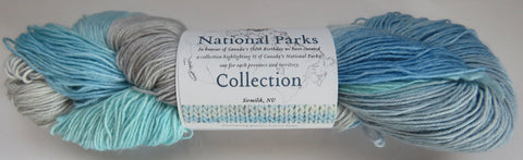 Fleece Artist National Parks Collection - Festival Socks - Sirmilik, NU