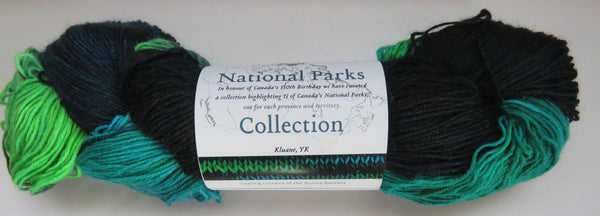 Fleece Artist National Parks Collection - Festival Socks -  Kluane, YK