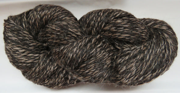 2 ply - Super Fine Alpaca - NATURAL - M - Light DK Weight