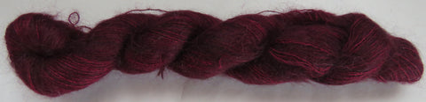 Brushed Kid Mohair/Silk - Wine 16-3