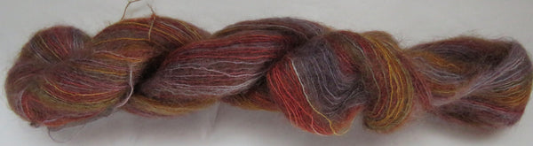 Brushed Kid Mohair/Silk - Red Fox - Lavender
