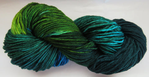 DK 4ply SOCK - Blue Winged Teal