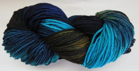 DK 4ply SOCK - Common Grackle