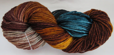 DK 4ply SOCK - Blue Spruce Forest