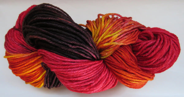 DK 4ply SOCK - Scarlet Tanager