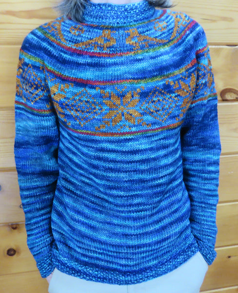 Pattern  1805 - Memory & Thought Yoke Sweater