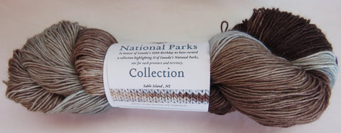Fleece Artist National Parks Collection - Festival Socks - Sable Island, NS