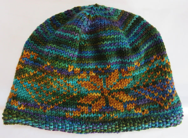 Pattern  1806 - Star Hat in DK 4 ply Sock