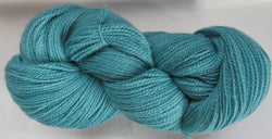 Fine Organic Merino - Fingering Weight - Teal Green 18-8