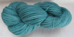 Fine Organic Merino - Fingering Weight - Teal Green 18-9