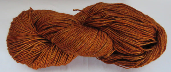 Yak/Silk/Merino - Fingering Weight - Amber 18-3
