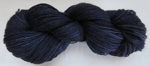Yak/Silk/Merino - Fingering Weight - Blue #17-34