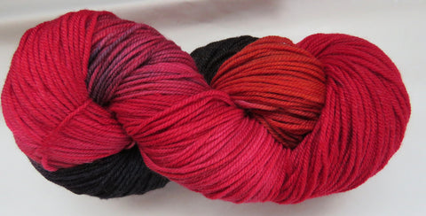 SW Socks - Scarlet Tanager 19AB
