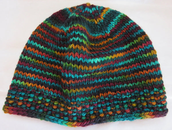 Pattern  1904 - Plain with ICord Hat - SW Merino - Bulky