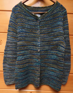 Pattern  1901 LG - Textured Cardigan