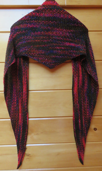 Pattern  1962 - Moss Stitch Shawl