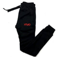 Black Slim Fit Jogger Set