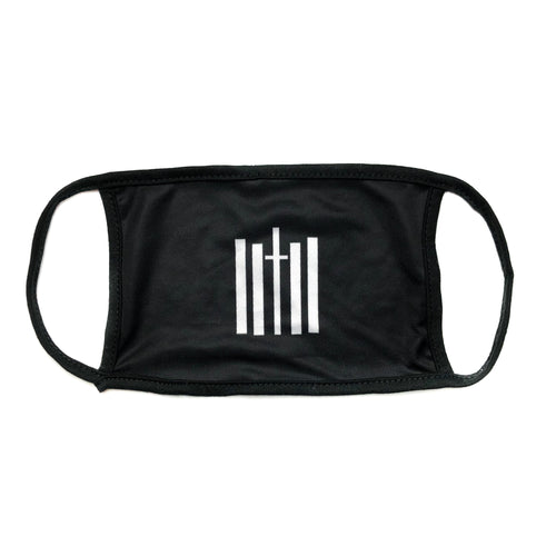 Vertical Face Mask - Black