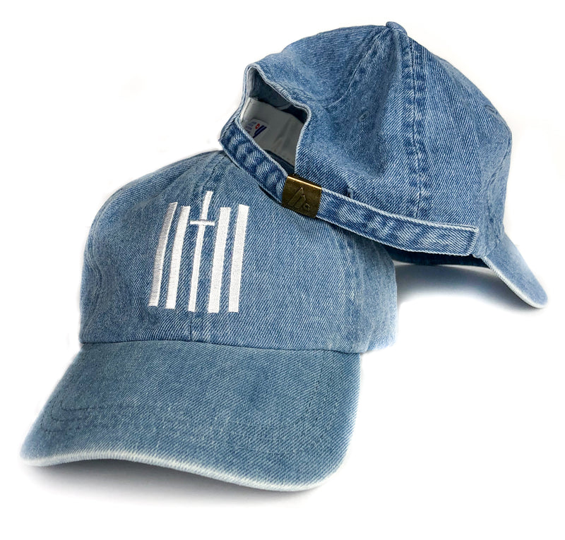 Vertical Dad Hat - Denim