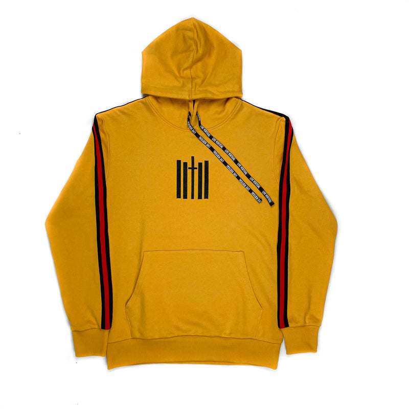 Live Vertical Hoodie - Gold