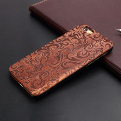 Thin Luxury Bamboo Wood Phone Case For iPhone High Quality Shockproof