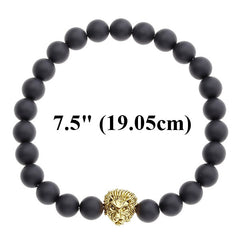 Stylish 8mm Buda / Lion / Skull Stone Buddha Bracelet