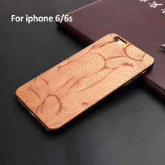 Natural Wood Hard Case Cover for Apple IPhone