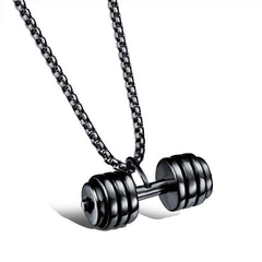 Stainless Steel Hardcore Gym Necklace
