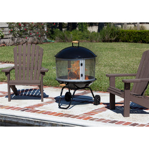 FIRE SENSE Bessemer Patio Fireplace - Fireplace Features