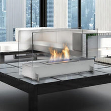 Vision I Freestanding Bio-Ethanol Fireplace - Stainless Steel ECO-FEU WS-00093-SS - Fireplace Features