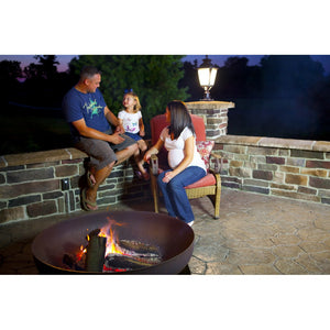 "OHIO FLAME 36"" Patriot Fire Pit - Fireplace Features"