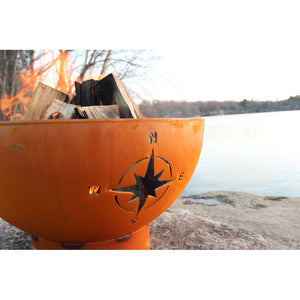 "FIRE PIT ART NAVIGATOR 36"" Fire Pit - Fireplace Features"