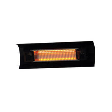 FIRE SENSE Black Steel Wall Mounted Infrared Patio Heater - Fireplace Features