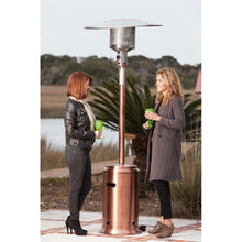 FIRE SENSE Copper Finish Commercial Patio Heater - Fireplace Features