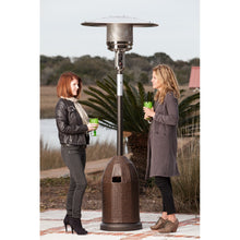 FIRE SENSE All Weather Wicker Patio Heater - Fireplace Features