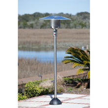 FIRE SENSE Stainless Steel Natural Gas Patio Heater - Fireplace Features