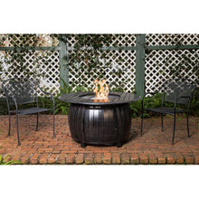 FIRE SENSE Grand Cooper Aluminum Round LPG Fire Pit - Fireplace Features