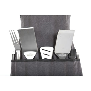 FIRE SENSE Elite Stainless Steel BBQ Tool Set - Fireplace Features