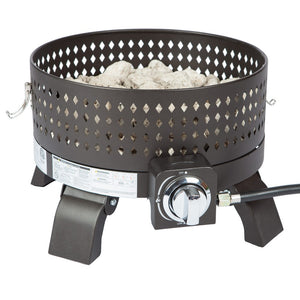 FIRE SENSE Sporty Campfire Portable Gas Fire Pit - Fireplace Features