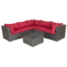 PATIO SENSE Sino Wicker Sofa Set - Fireplace Features