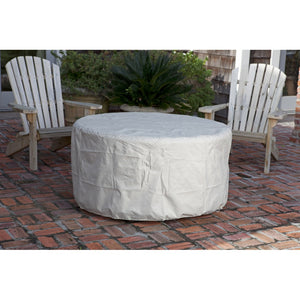 FIRE SENSE Perissa Woven Round Aluminum LPG Fire Pit - Fireplace Features