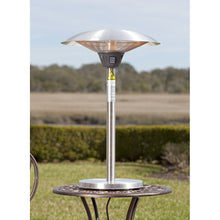FIRE SENSE Cimarron Stainless Steel Table Top Halogen Patio Heater - Fireplace Features