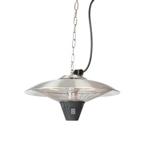 FIRE SENSE Gunnison Aluminum Hanging Halogen Patio Heater - Fireplace Features
