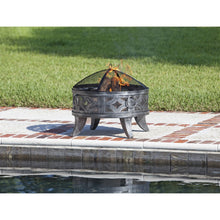 FIRE SENSE Firenzo Round Fire Pit - Fireplace Features