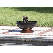 FIRE SENSE Degano Round Fire Pit - Fireplace Features